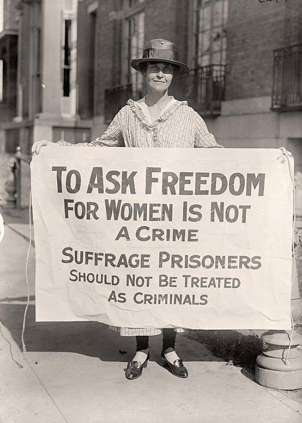 thesis on womens suffrage Download thesis statement on women's rights in our database or order an original thesis paper that will be western states adopted woman suffrage.