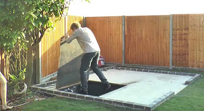 What This Man Built Underneath His Backyard Made Me