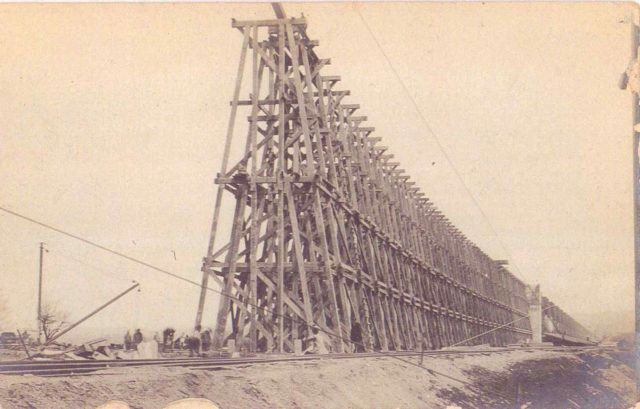 The Incredible Timber Railroad Bridges Of The 1800s