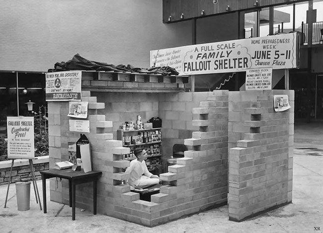 cold war fallout shelters in the event of a nuclear attack 23