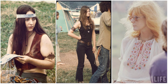 Girls Of Woodstock: The Best Beauty And Fashion From One