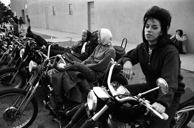 1960s Photos of the Notorious Hells Angels Biker Gang in