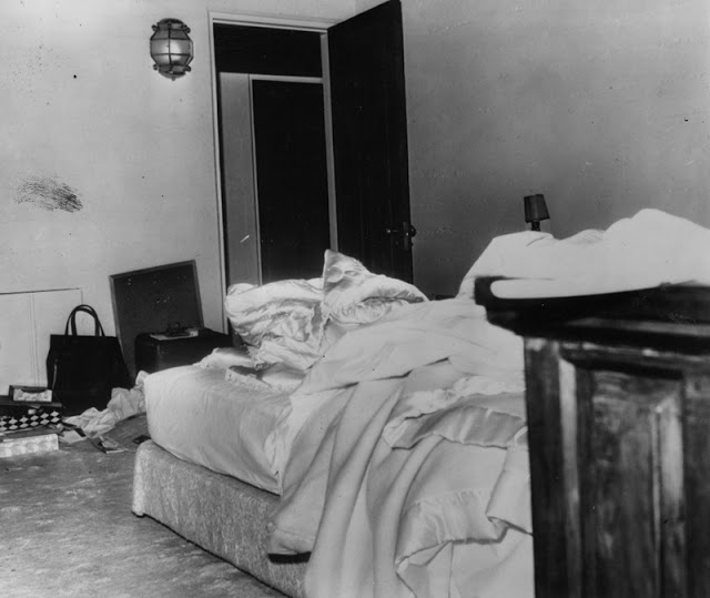 The Bedroom In Which Marilyn Monroe Was Found Dead Of A Barbituate Overdose  On August 6, 1962.