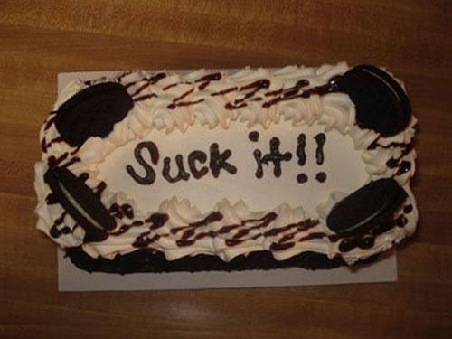 Most Hilarious Cake Messages In The History Of Cake