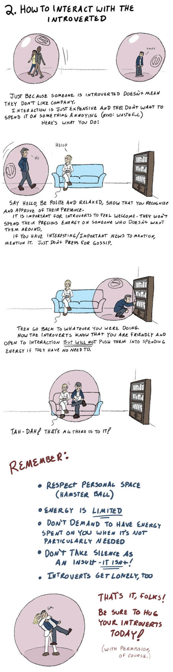 How to deal with introverts