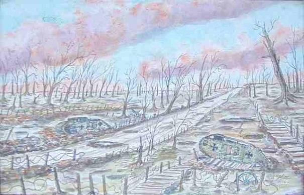 adolf hitler paintings 17