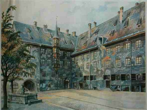 adolf hitler paintings 3