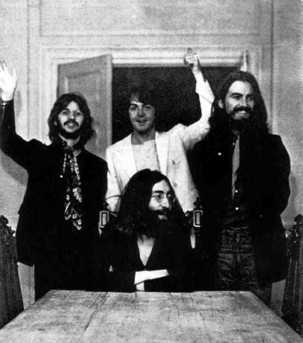 beatles last photo