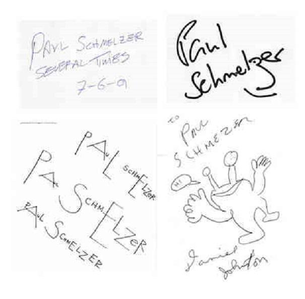 crazy collections - autograph