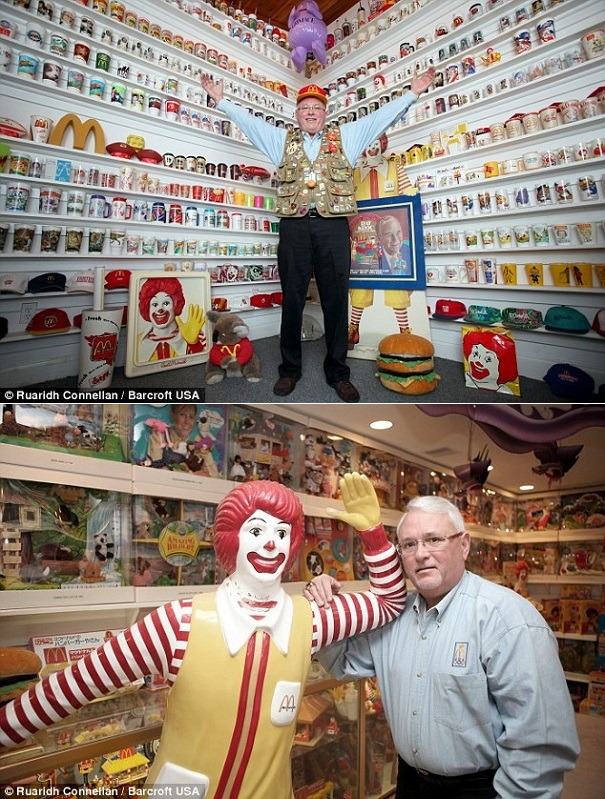 crazy collections - happy meal