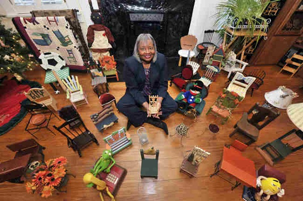 crazy collections - miniature chairs