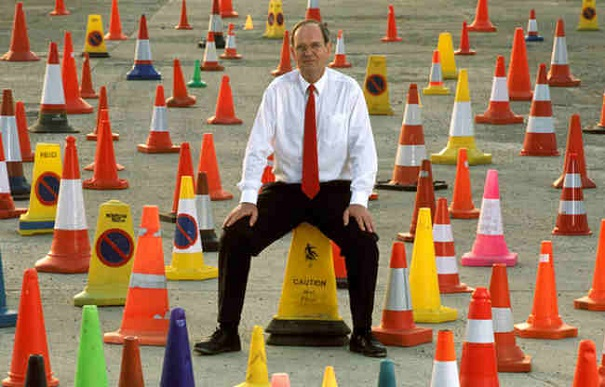crazy collections - traffic cones