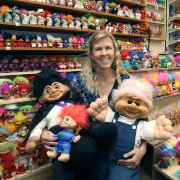 crazy collections - trolls dolls