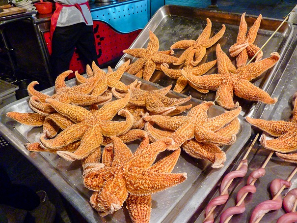 deep fried starfish