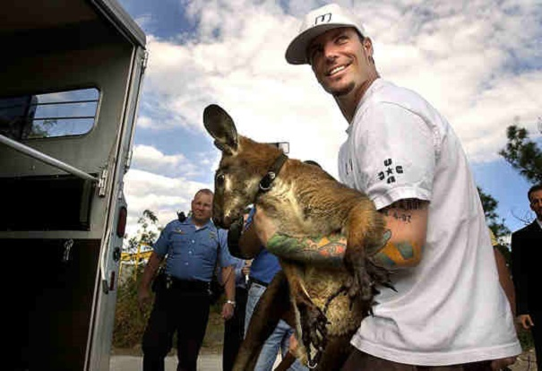 famous people with weird pets 6