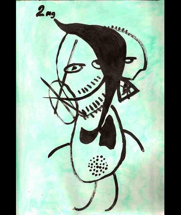 Trippy Self-Portraits -2mg nicotine gum