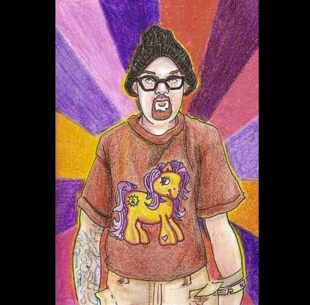Trippy Self-Portraits - Abilify, Ativan, and Xanax