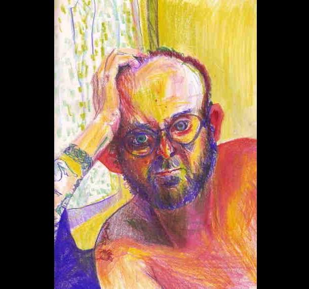 Trippy Self-Portraits -Ambien