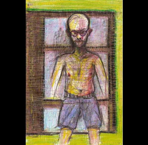 Trippy Self-Portraits -Butalbital