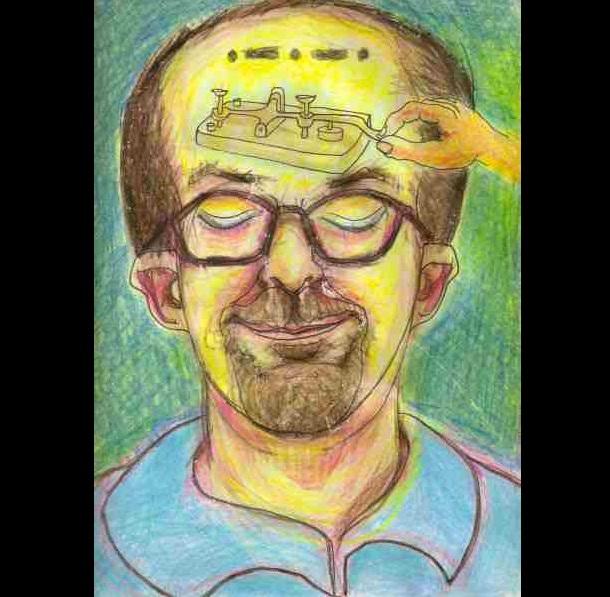 Trippy Self-Portraits -Butane honey oil