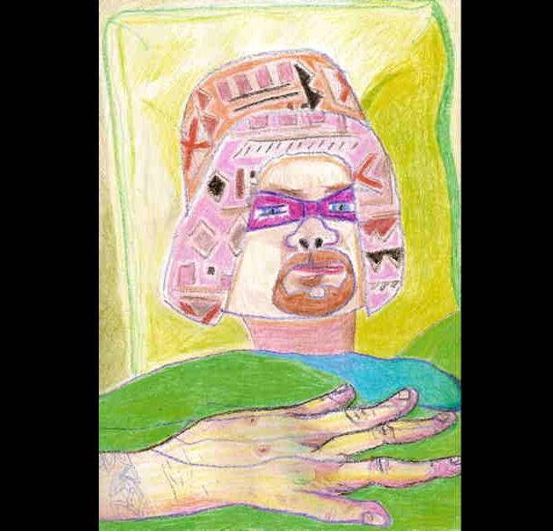 Trippy Self-Portraits -Dilaudid