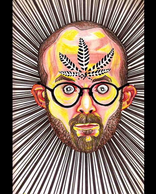 Trippy Self-Portraits -G-13 marijuana