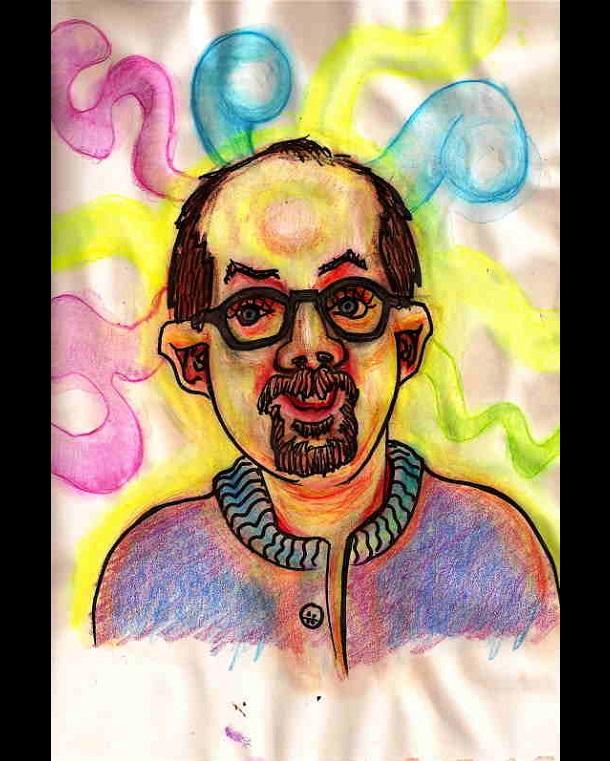 Trippy Self-Portraits -Hash