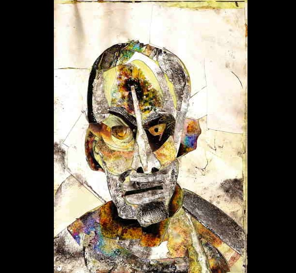 Trippy Self-Portraits - IV morphine
