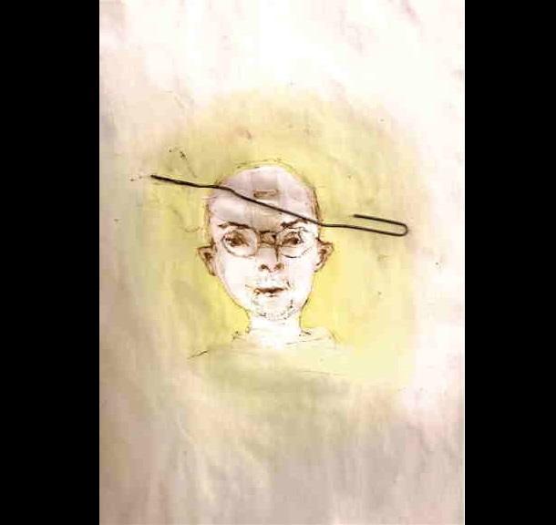 Trippy Self-Portraits -Marijuana resin