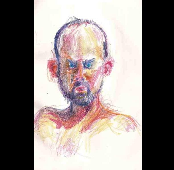 Trippy Self-Portraits -Percocet