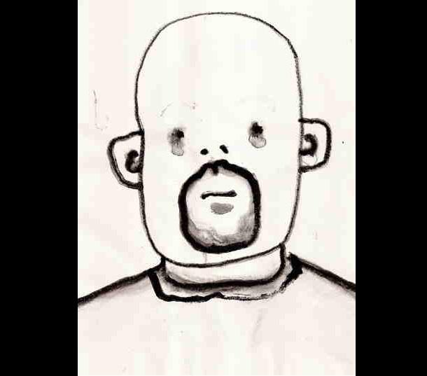 Trippy Self-Portraits -Real absinth