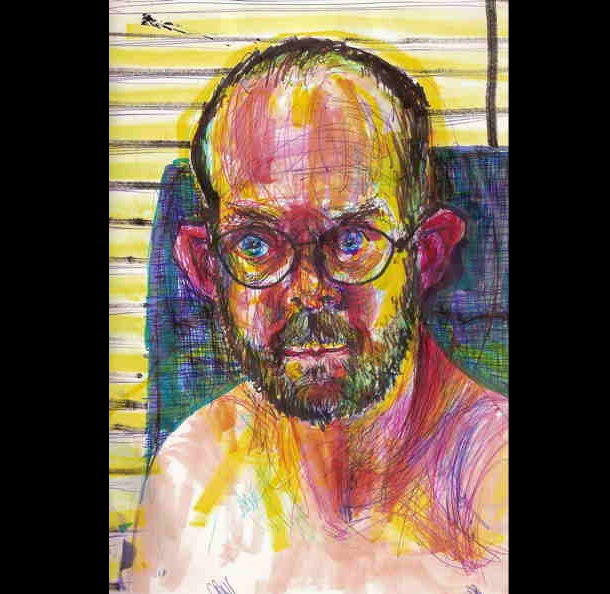 Trippy Self-Portraits -Ritalin