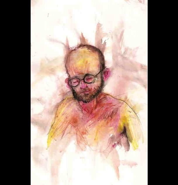 Trippy Self-Portraits -Xanax