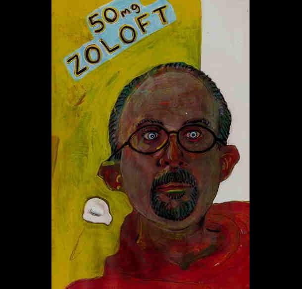 Trippy Self-Portraits -Zoloft