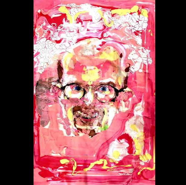Trippy Self-Portraits - crystal meth