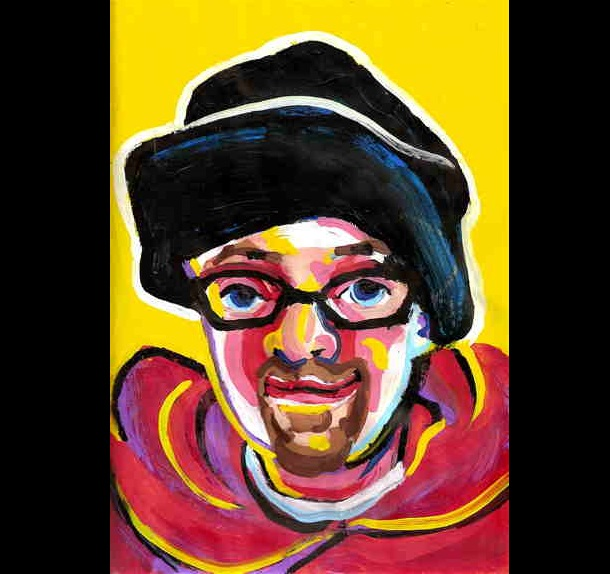 Trippy Self-Portraits - salvia