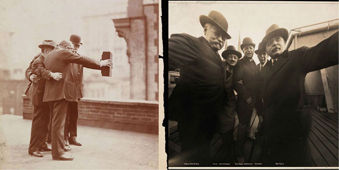 cool-first-selfie-old-photo