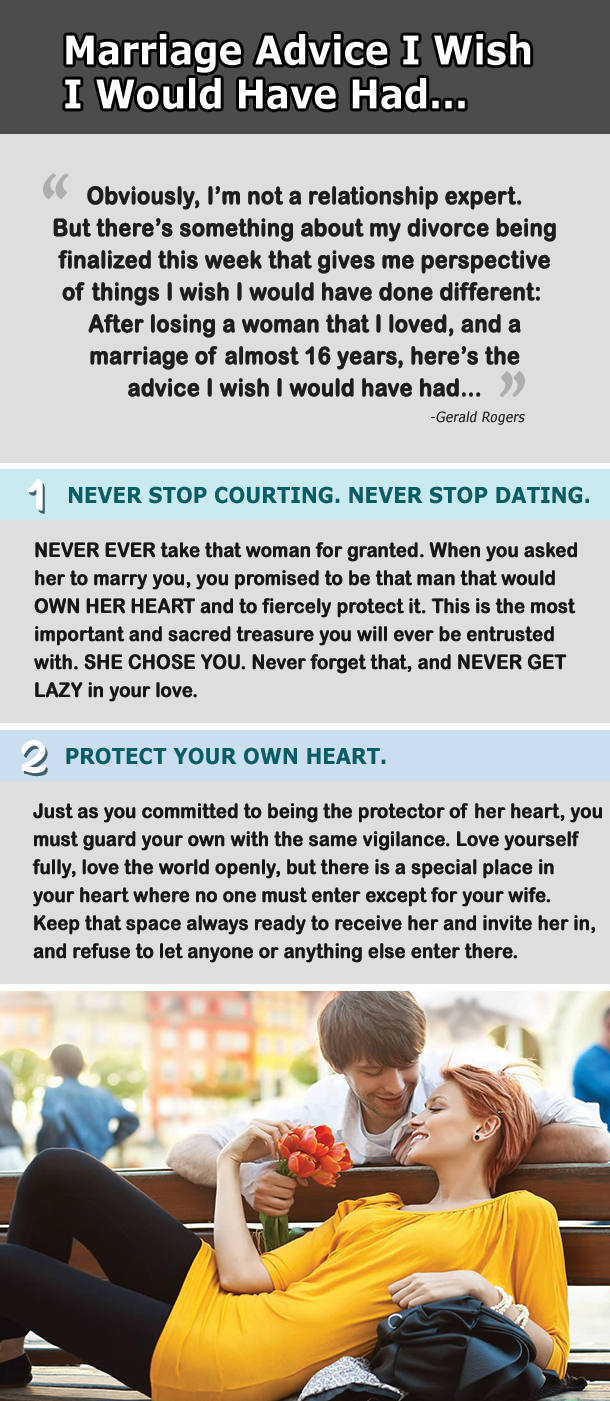 20 Incredible Marriage Advice Everyone Needs to Know