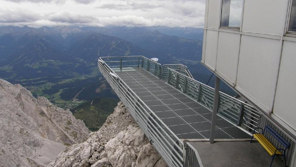 how to get to sky walk from hallstatt