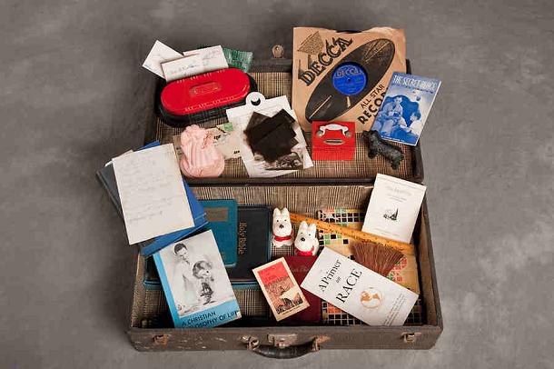 Thelma R suitcase 1