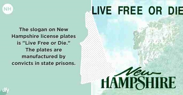embarrassing state fact - New Hampshire