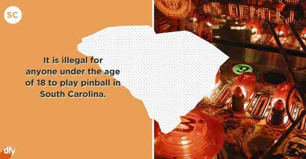 embarrassing state fact - south carolina