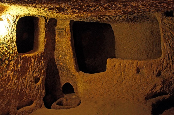 underground city at Derinkuyu 3