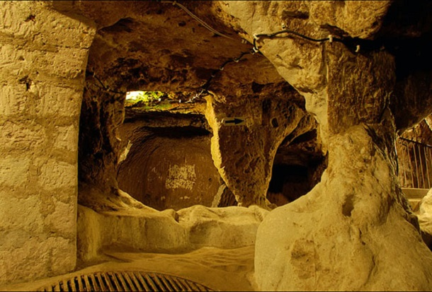 underground city at Derinkuyu 4