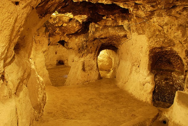 underground city at Derinkuyu 5