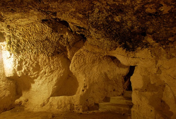 underground city at Derinkuyu 6