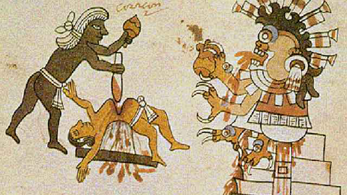 archaeological discoveries - aztecs sacrifices