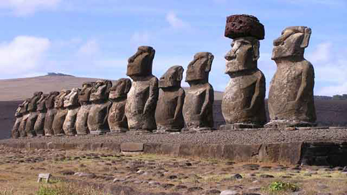 archaeological discoveries - rapa nui