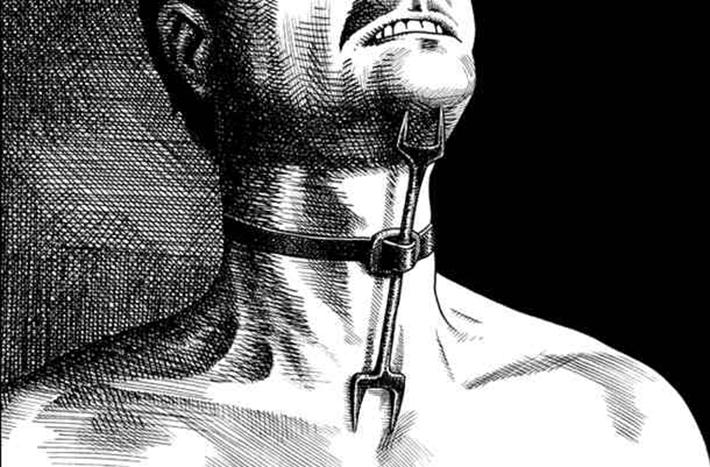 brutal torture devices - heretics fork