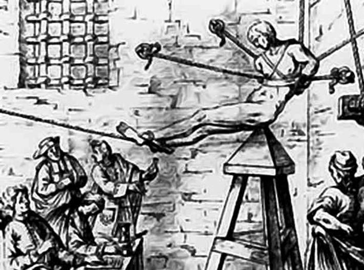 brutal torture devices - judas cradle